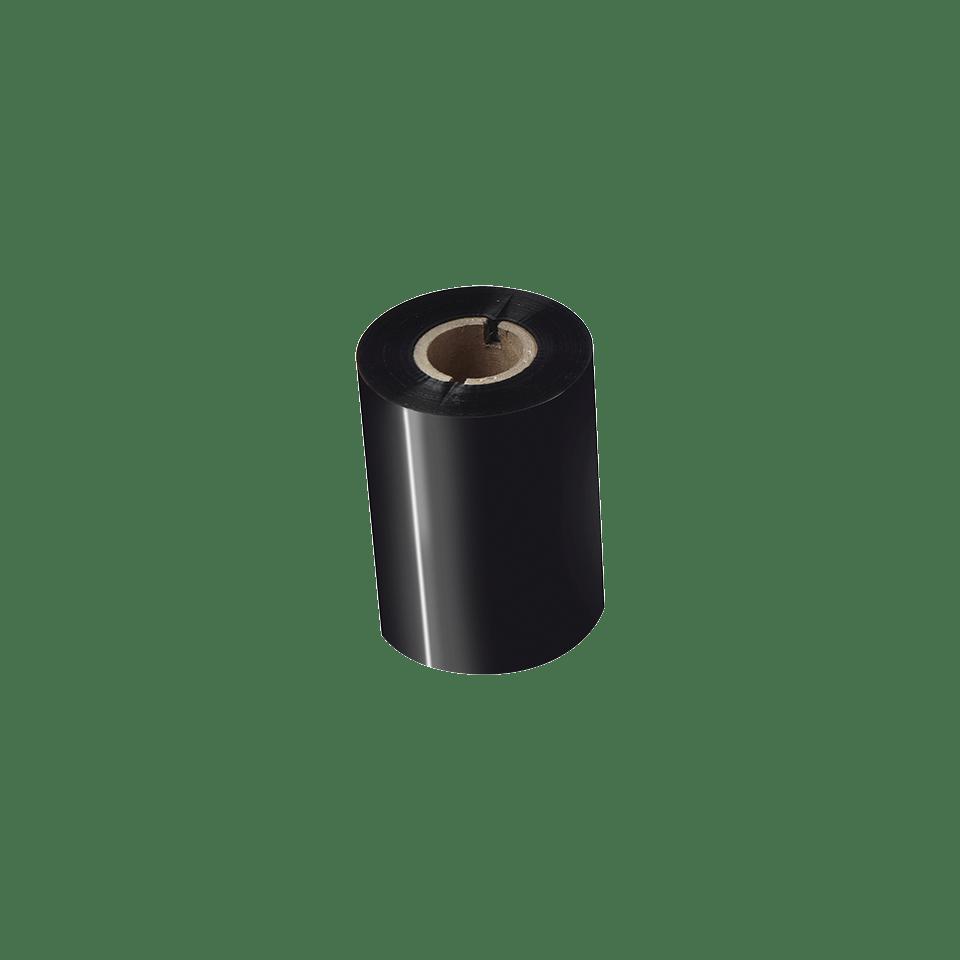 Išskirtinės kokybės vaškinė/dervos terminio perdavimo juosta su juodu rašalu BSP-1D300-080 2