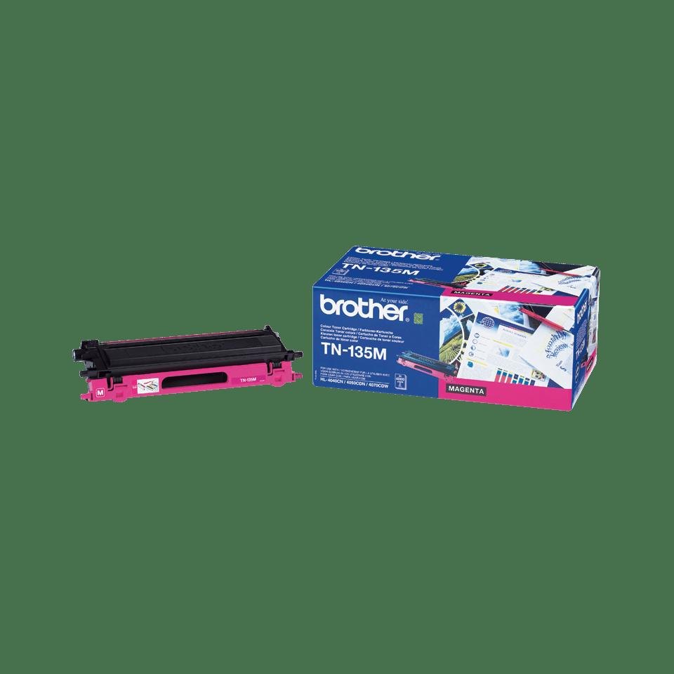 Genuine Brother TN-135M High Yield Toner Cartridge – Magenta