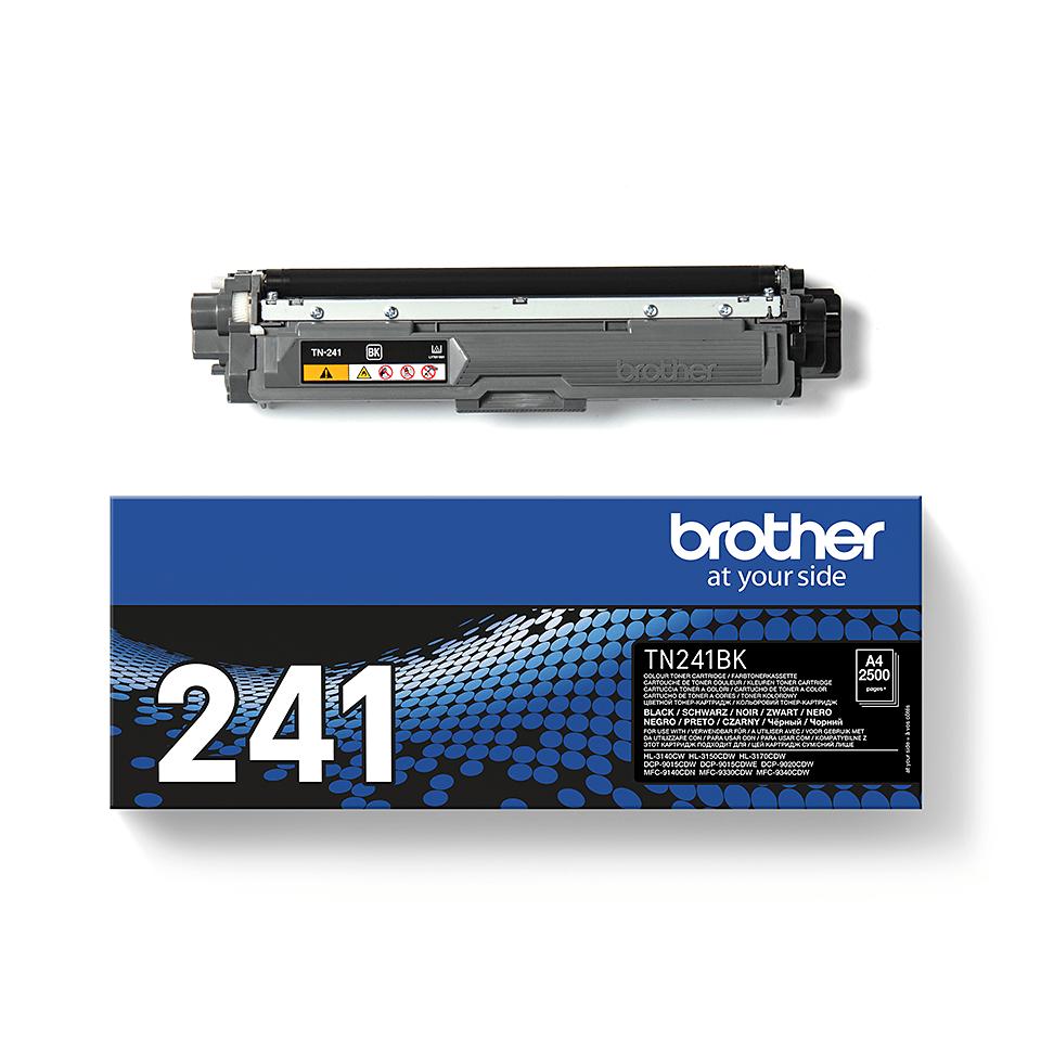 Originali Brother TN241BK dažų kasetė – juodos spalvos 2