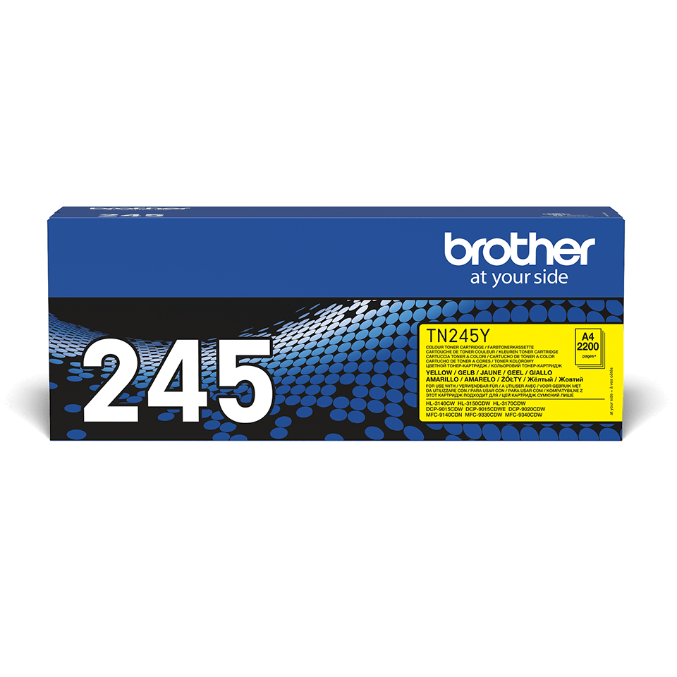 Genuine Brother TN-245Y Toner Cartridge – Yellow