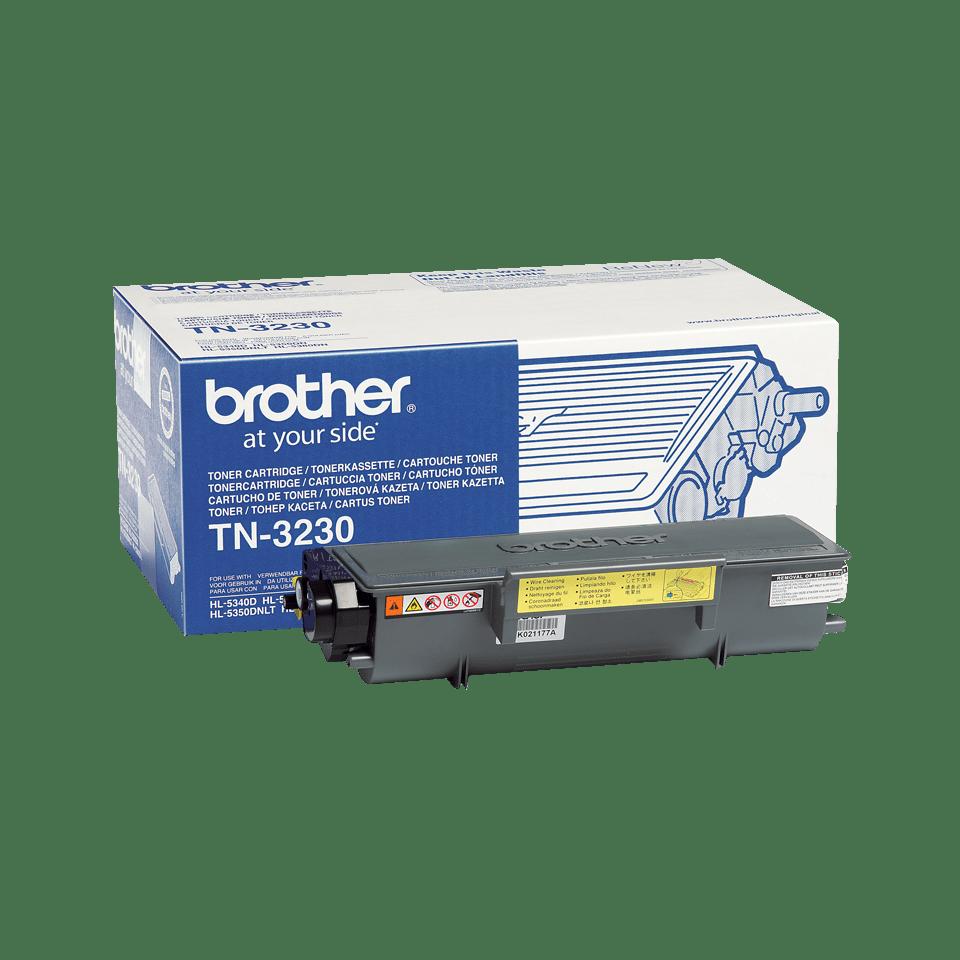 Originali Brother TN3230 rašalo kasetė – juodos spalvos
