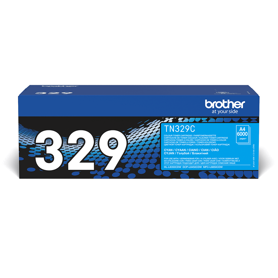 Genuine Brother TN-329C Toner Cartridge – Cyan