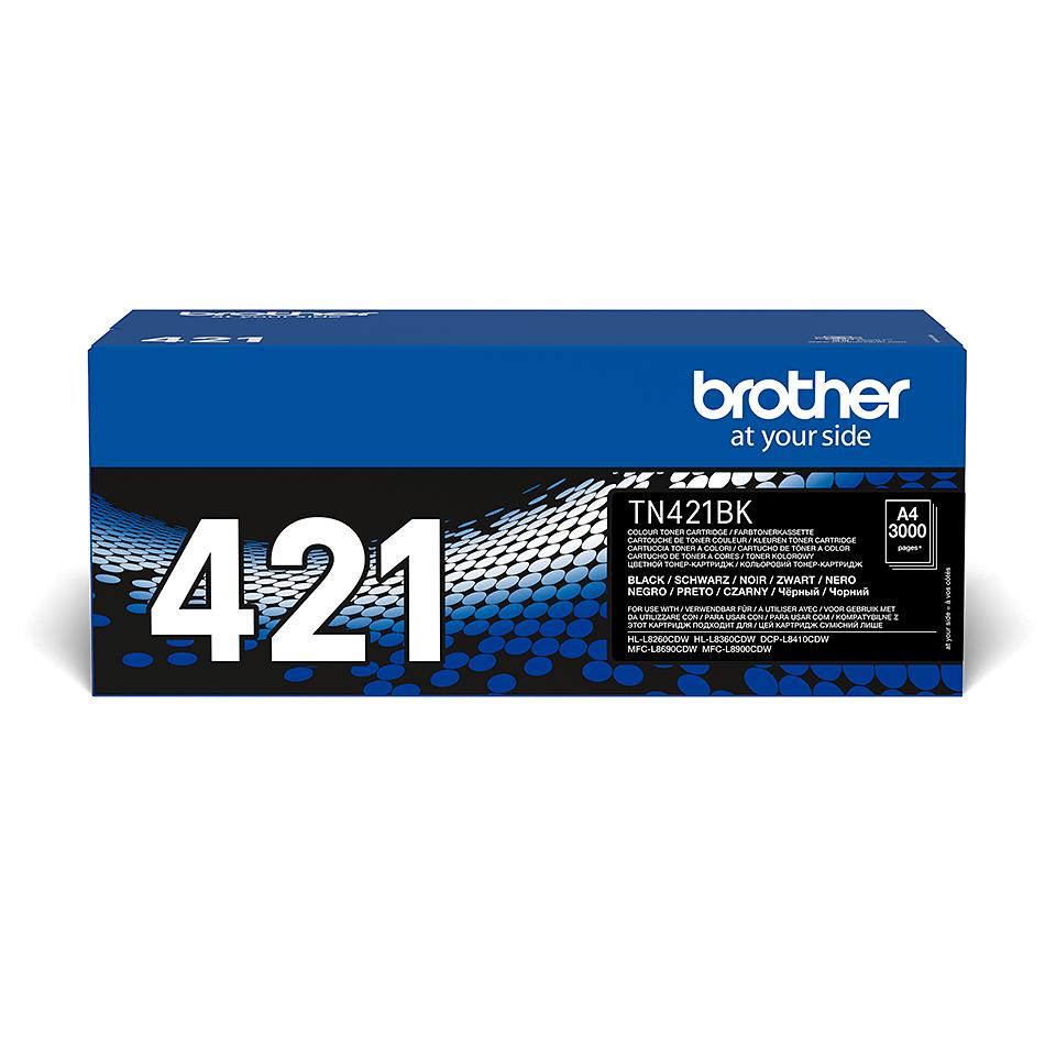 Genuine Brother TN-421BK Toner Cartridge – Black 2