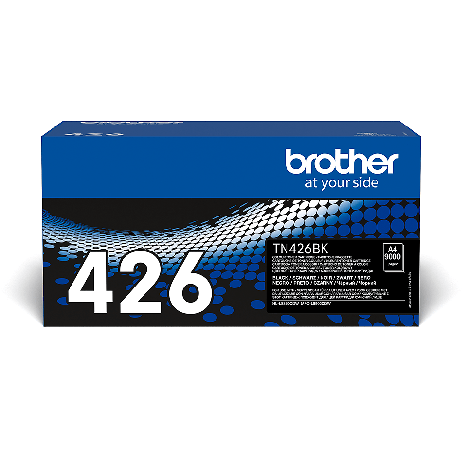 Genuine Brother TN-426BK Toner Cartridge – Black