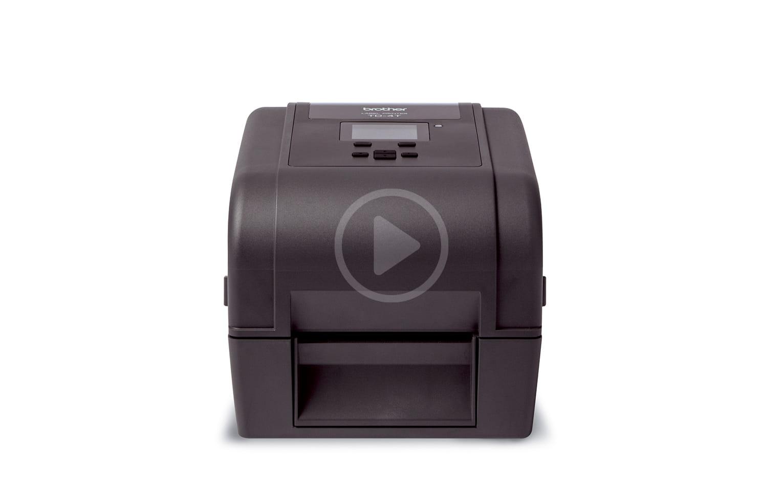 Brother TD-4650TNWB stalinis etikečių spausdintuvas 6